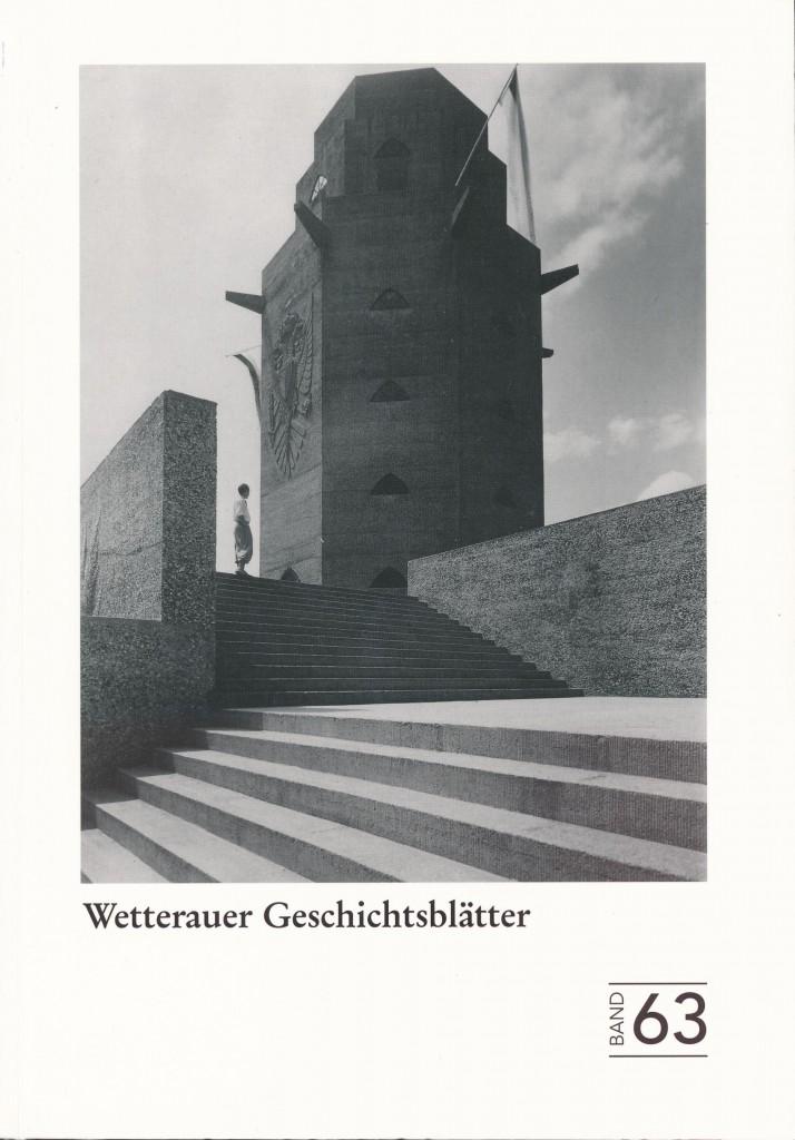 Titelblatt Band 63 WGBL
