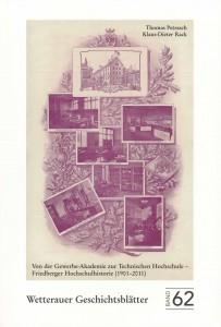 Titelblatt Bd. 62 WGbl.