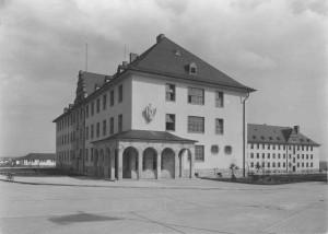 1938 ca. Kaserne Hauptgebäude Ludwig Schmidt