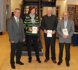 Lothar Kreuzer, Annemarie Jordis, Dr Hans -Günter Mühling und Rolf-Dieter Köbel
