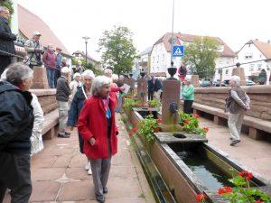 12- Röhren-Brunnen an der Mümling-Quelle in Beerfelden