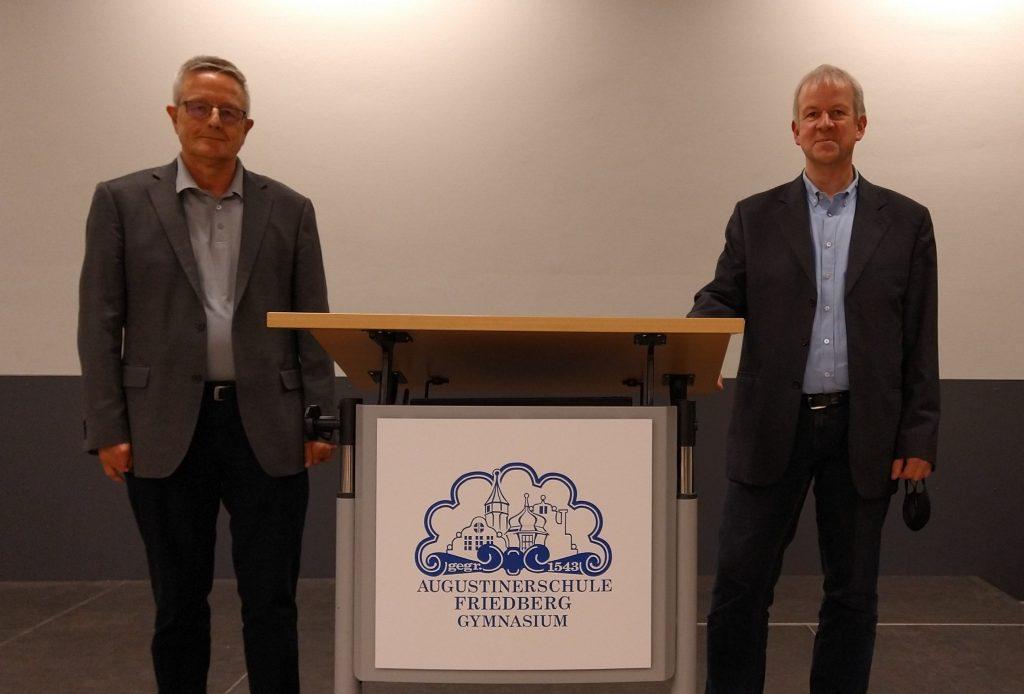 Die Referenten Lothar Kreuzer und Johannes Kögler