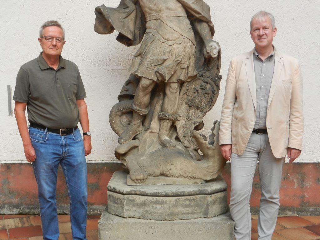 Lothar Kreuzer und Johannes Kögler bleiben weiterhin an der Spitze des Friedberger Geschichtsvereins.